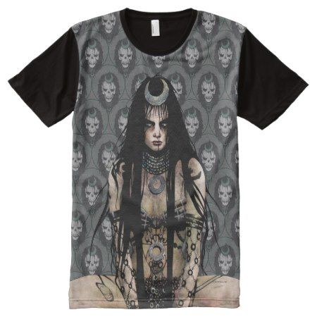 Suicide Squad   Enchantress All-Over-Print T-Shirt - click/tap to personalize and buy