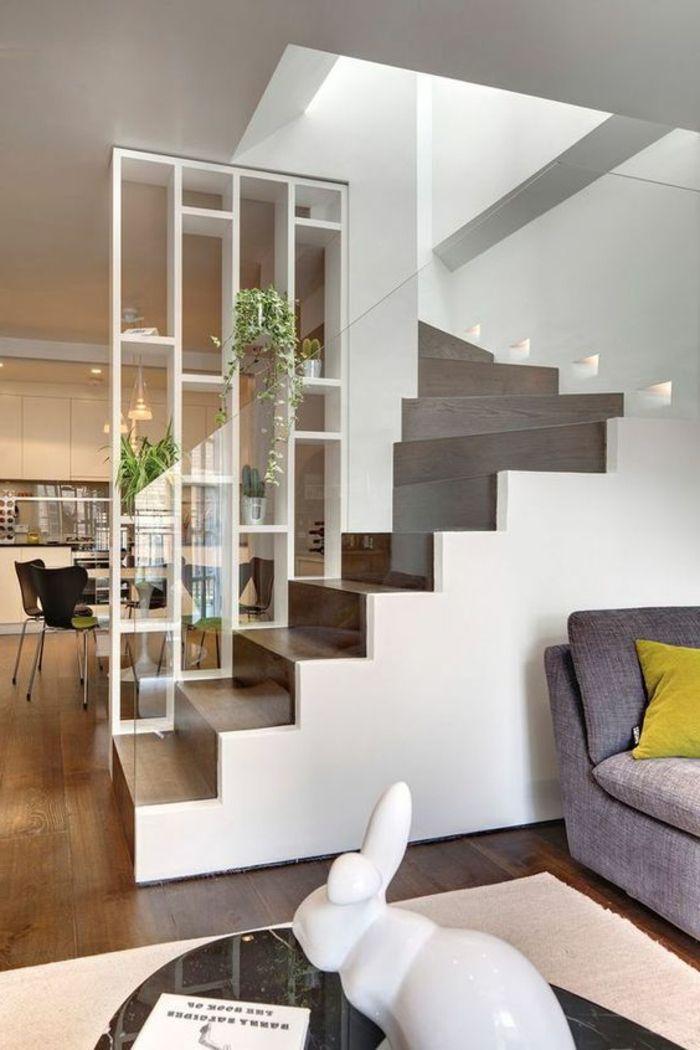 Les 25 meilleures id es de la cat gorie escalier ouvert que vous aimerez sur pinterest rampes for Escalier interieur contemporain