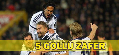 Süper Lig Süleyman Seba Sezonu'nun 20. hafta maçında Fenerbahçe, konuk olduğu Gaziantepspor'u 5-0 yenerek haftayı 3 puanla kapattı.
