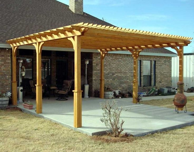 25 best ideas about free standing pergola on pinterest for Diy free standing pergola