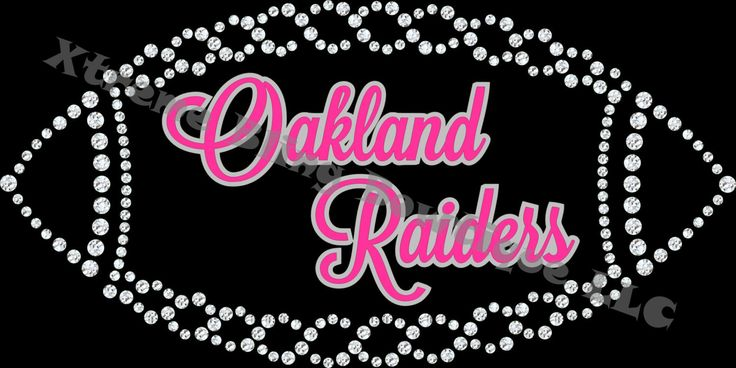NFL Rhinestone and Glitter Vinyl T-Shirt Pink with Silver Version (All NFL Teams are Available)