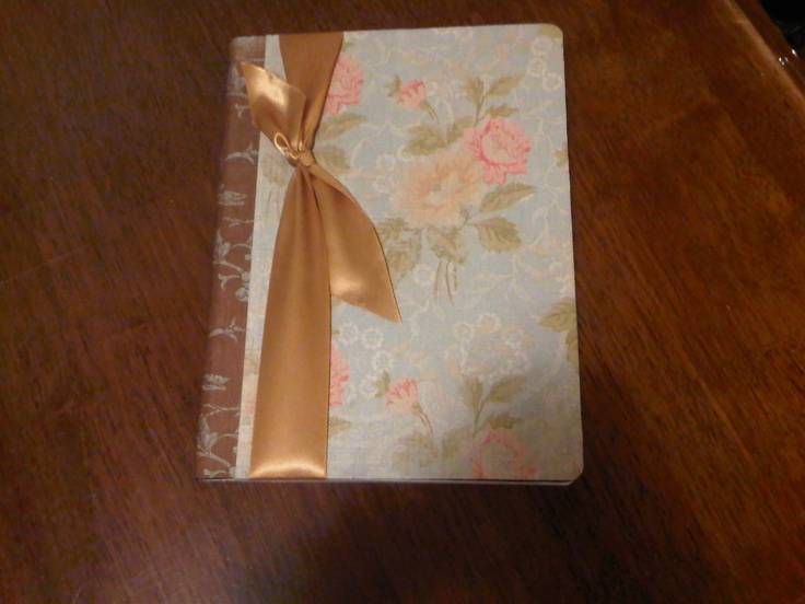 A Vintage styled journal that I have listed on Etsy.  http://www.etsy.com/shop/SassyPlanet