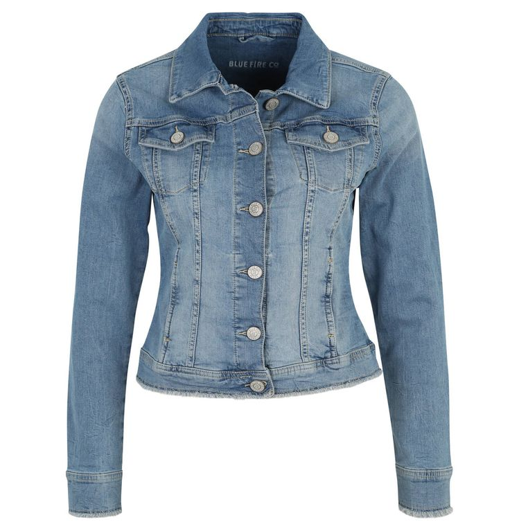 17 best ideas about jeansjacke damen on pinterest damen jeans denim winterjacke damen and - Beste jeansjacke ...