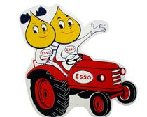 I <3 the Esso oil drop boy and girl!