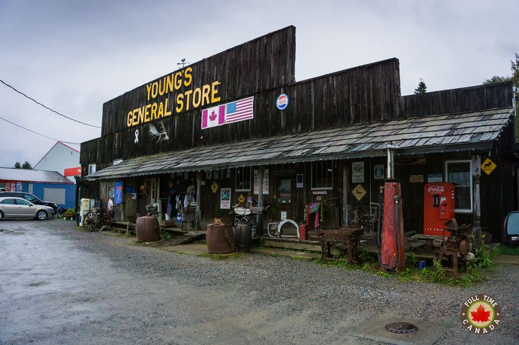 Young's General Store in Wawa.