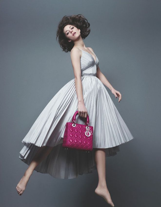 Marion Cotillard In The New Lady Dior Campaign – Celebrity Wallpaper