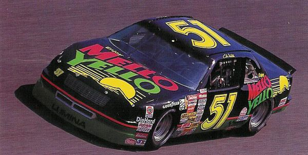 Cole Trickle's (Tom Cruise) race car from the movie Days of Thunder. (1990 Chevrolet Lumina NASCAR)