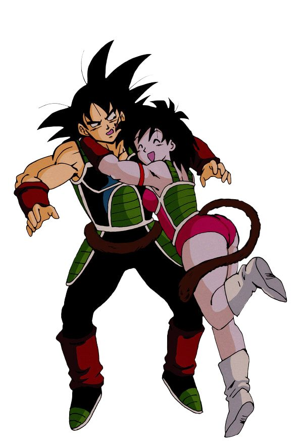 Bardock and Gine