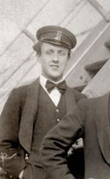 Violinist John Law Hume, 21, was one of the eight band members who kept playing as the ship sunk into the icy waters. He went down with the ship.