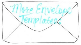 Links to over 100 free hand made envelope templates and tutorials