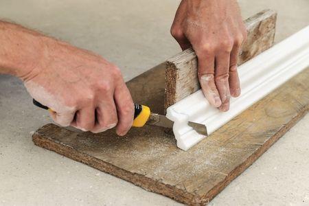 How to Cut Quarter Round Molding | DoItYourself.com