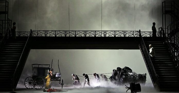 Recensione de Il Tamerlano di Handel e Livermore alla Scala. Nel cast Domingo, Mehta, Fagioli, Schiavo, Crebassa, Senn. In buca d'orchestra Diego Fasolis.