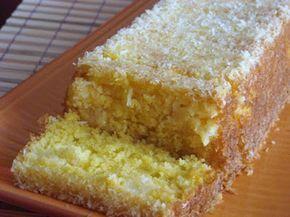 Receita Sobremesa : Bolo de côco e ananás de Filipita