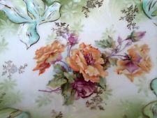 Antigo Rs Prussia Linda Bandeja de relish Iris Companion molde Aro Tiffany
