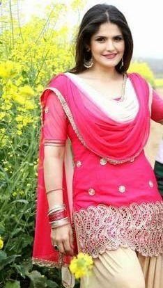 Zareen Khan in punjabi suit