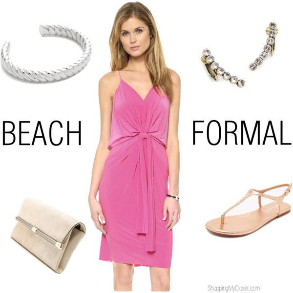 Beach formal wedding guest attire   see all the details at www.shoppingmycloset.com