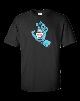Sliotar Hand - Hurling Shirt - A hungry hand, one might say!