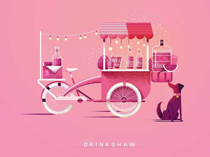 Drinkshaw by Maite Franchi #Design Popular #Dribbble #shots