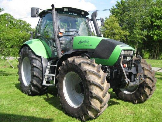 #Deutz-Fahr  Agrotron TTV 1160 #tractor: Intuitive farm machinery! View more Deutz-Fahr #tractors at http://www.agriaffaires.co.uk/used/farm-tractor/1/4031/deutz-fahr.html