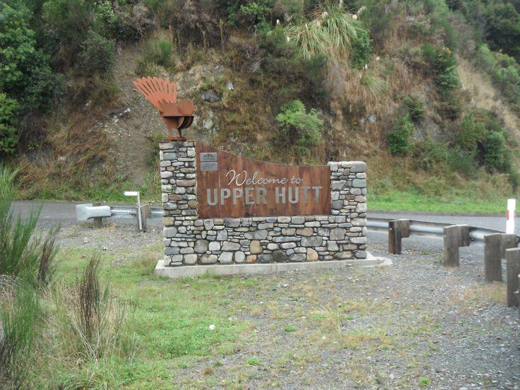 Upper Hutt Sign