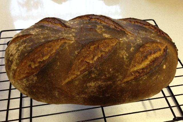 Badisches Landbrot – mit 20 % Roggenvollkorn und Mehlkochstück gebacken von tinca0
