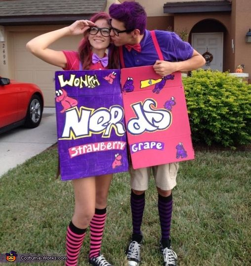 This homemade costume for couples entered our 2014 Halloween Costume Contest.