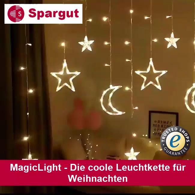 MagicLight – Die coole Leuchtkette für Weihnachten 🎅🎄