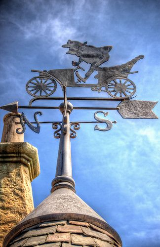 Mr. Toad's Wild Ride Weather Vane