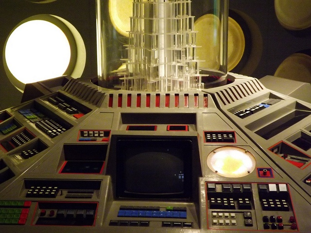 Close up of Console: Doctors 5 to 7 by CoasterMadMatt, via Flickr