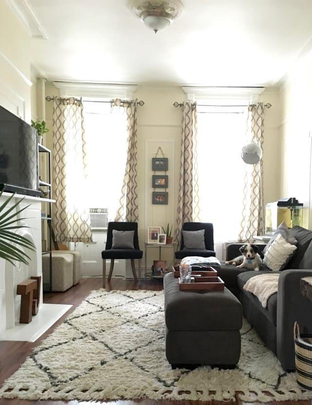 A Comfy Cozy Railroad Apartment Small Apartment Living Room Small Apartment Living Living Room Decor Apartment