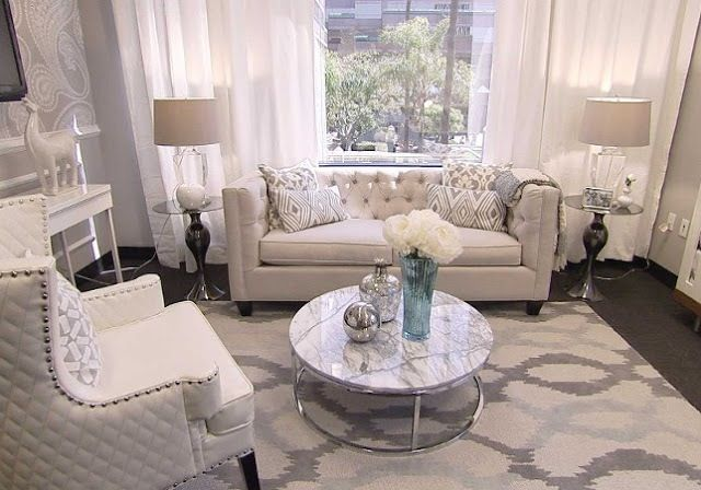 Giuliana Rancic Work Office~most items purchased at Home Goods! Lonni Paul Designs
