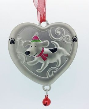 Christmas Ornament - PUPPY LOVE - Personalised