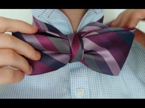 Il Papillon, o cravatta a farfalla, è uno degli elementi più comuniper quanto riguarda la figura maschile. In questo video vi verrà mostrato come trasformare le vostre vecchie cravatte in papillon da utilizzare per qualsiasi occasione.