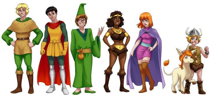 Fanart: Dungeons and Dragons by zulenha.deviantart.com on @deviantART