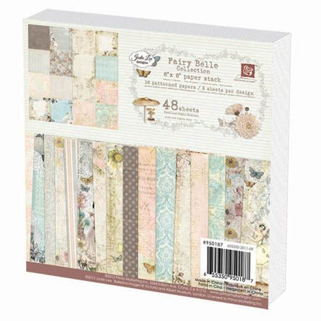 Prima - Fairy Belle Collection - 6 x 6 Paper Pad | Fairy ...