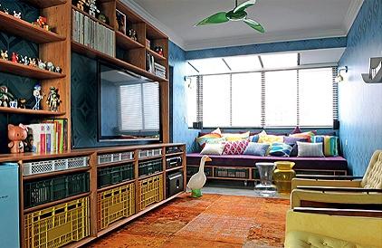 revistacasaejardim.globo.com: Decor Ideas, Living Rooms, Sweet, Colors Rooms, Interiors, Toys Art, Estant, Ideia Para, Room