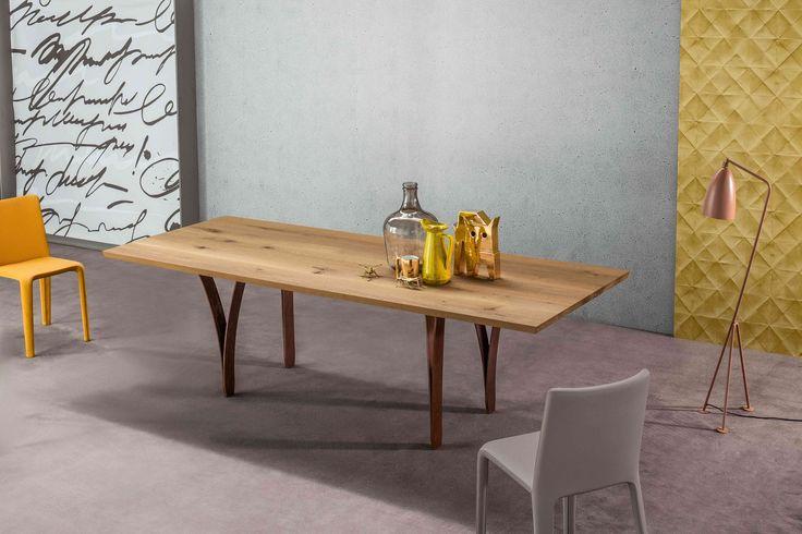 Gap #table #design Alain Gilles & My Time #chair design Dondoli e Pocci by #Bonaldo