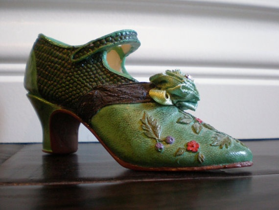 163 Best Images About Vintage Miniature Collectable Shoes On Pinterest Miniature Vaseline