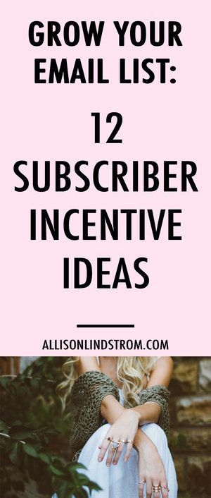 Looking for the best way to get subscribers? Here are 12 content upgrades you can offer to subscribers as an opt-in incentive to grow your email list. And I've even included a copy of the list that you can download for free!