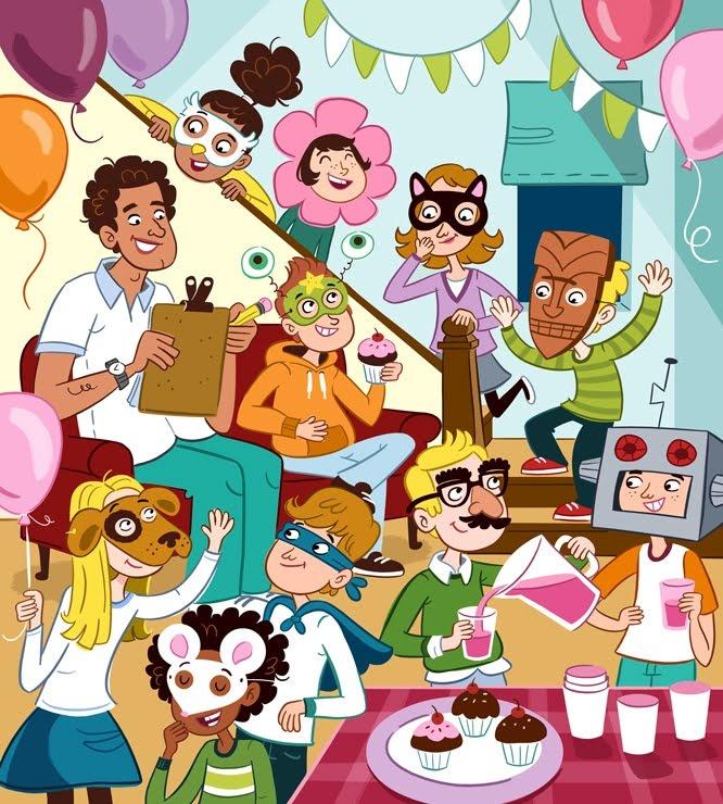 Fiesta de cumpleaños: ¿qué están haciendo? - Genevieve Kote