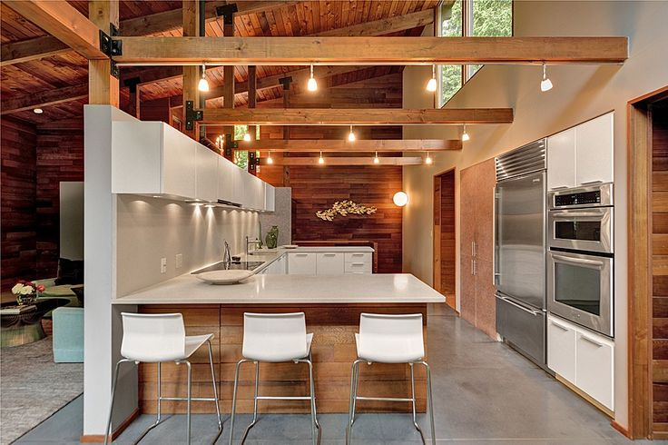 kitchen - modern/timber