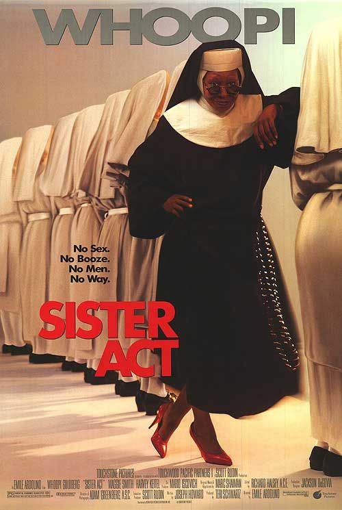 Sister Act movie posters at movie poster warehouse movieposter.com