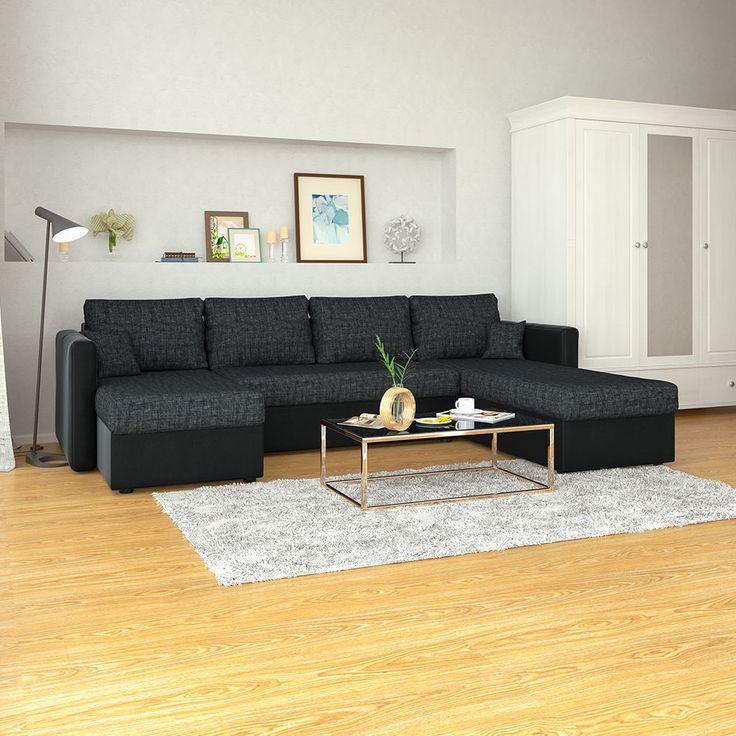 75 Attraktiv Couch Schwarz
