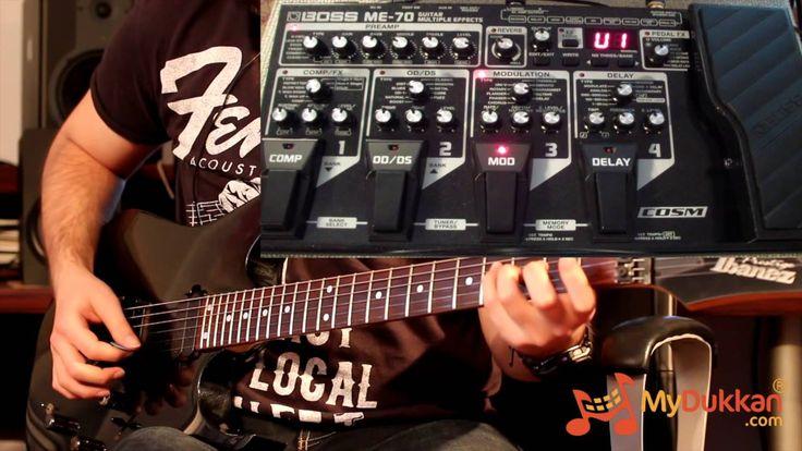 Boss ME-70 Gitar Prosesör İncelemesi (Hızlı Video)