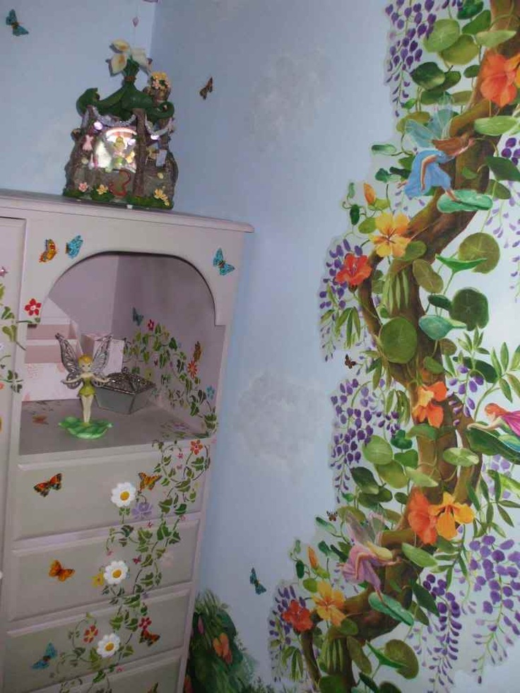 17 best images about tinker bell and fairies on pinterest for Disney fairies bedroom ideas