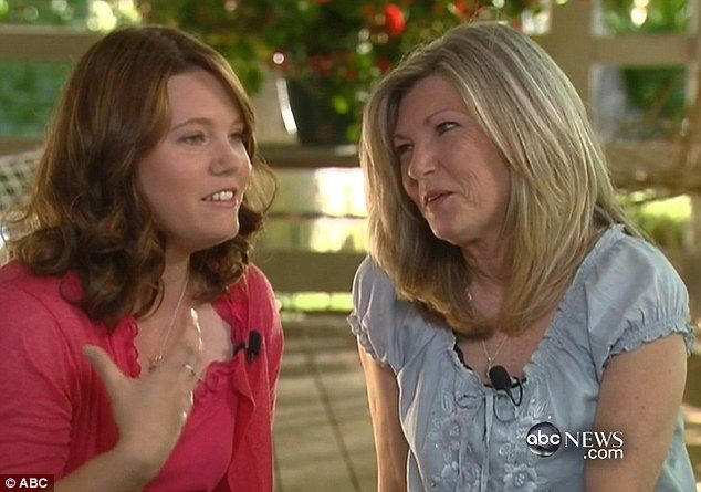 Jaycee Dugard Daughters Photos 2010 | Facing the future: Now Jaycee, her two daughters and her mother Terry ...