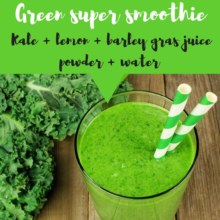 Amazing green smoothie! Kale + barley grass juice powder + lemon + organic liquid stevia + vanilla extract! Healthy and tasty green smoothie, great natural source of potassium, B vitamins, minerals and fibre. Great for every day.