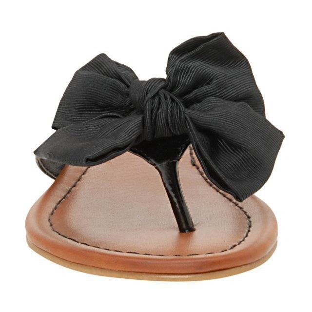 aldo bow flip flops $35