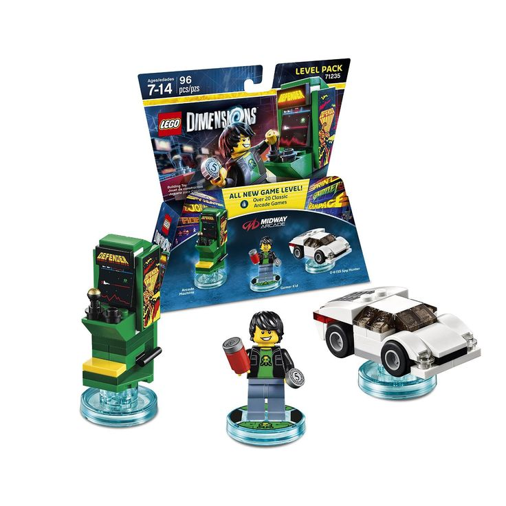 First Impressions: Midway Arcade for Lego Dimensions (22 classic arcade games)
