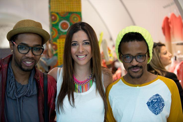 Bloggers MJ, Taryn Treisman and Jerri Mokgofe